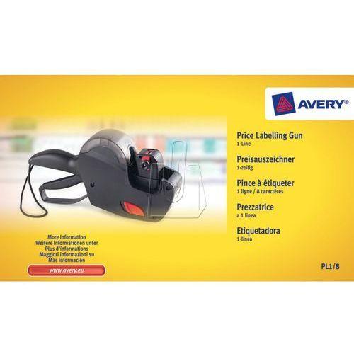 Avery zweckform Metkownica cenowa jednorzędowa avery pl1/8