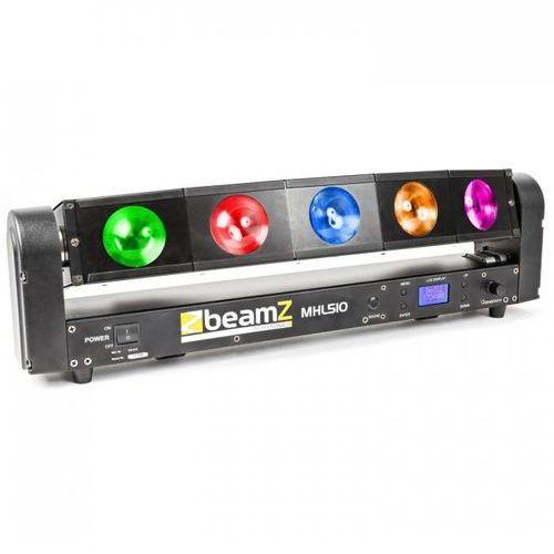 Beamz Mhl510 color sweeper efekt świetlny 5 x 10w quad cree led