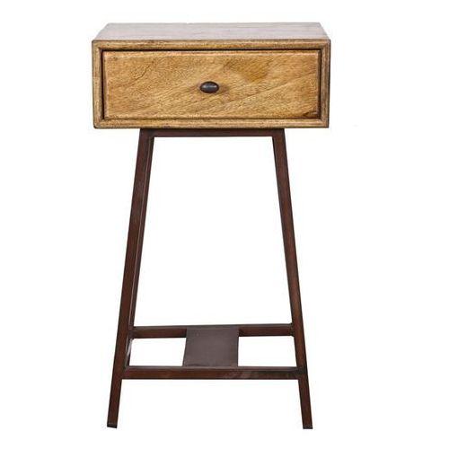 Be pure Stolik boczny drewniany skybox - naturalny
