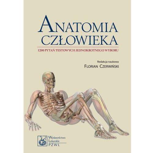 Anatomia człowieka. 1200 pytań testowych jednokrotnego wyboru - No author - ebook