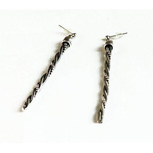 Kolczyki 2319 w kolorze starego srebra marki Verona fashion