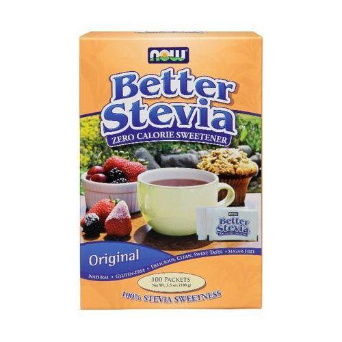 Now foods, usa Now foods better stevia 100 saszetek po 1g