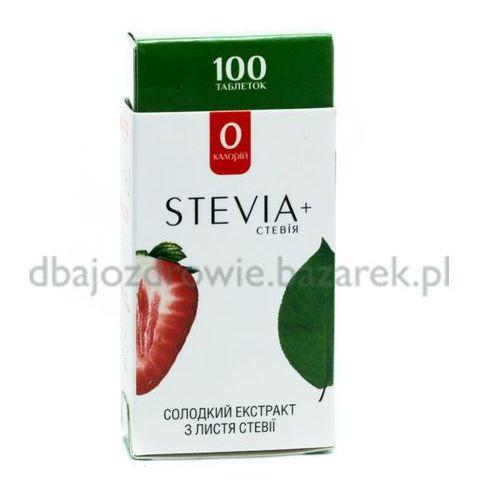 Stewia (Stevia), 100 tabletek Słodzik naturalny