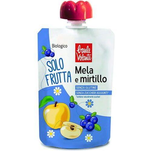 Ecor Mus z jabłek i jagód bio 100 g baule volante (8018848017519)