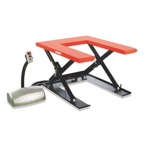 """Deltalift Stół podnośny w kształcie litery """"u"""" htf-u, 1t (8596538073088)"""
