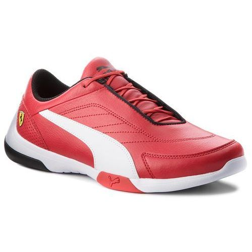 Puma Sneakersy - sf kart cat iii 306219 01 rosso corsa/puma white