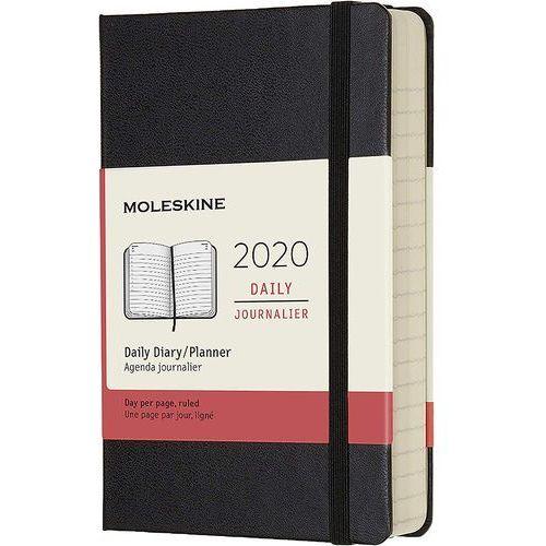Kalendarz Moleskine 2020 Dzienny, Pocket, czarny, MODHB12DC2Y20