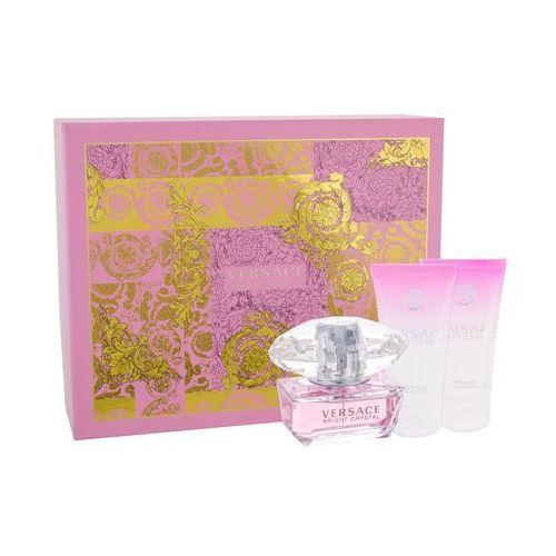 Versace bright crystal zestaw edt 50ml + 50ml balsam + 50ml żel pod prysznic dla kobiet (8011003809387)