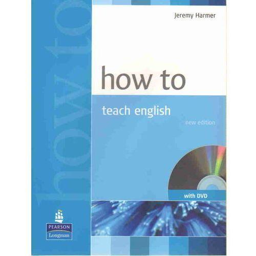 How To Teach English Plus Dvd - Book Plus Dvd [Książka Plus Dvd], Harmer, Jeremy