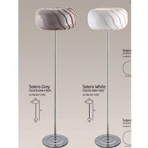 SOLERO podłogowa biała lub szara Maxlight - produkt dostępny w agm.bazarek.pl