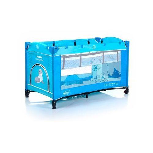 Łóżeczko turystyczne Vegas Continental, niebieskie, 4Baby