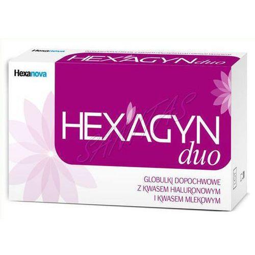 Hexagyn duo 2g x 10 globulek dopochwowych marki Hexanova sp. z o.o.