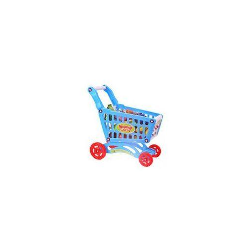 Wózek na zakupy dla dzieci do zabawy z akcesoriami SHOPPING marki MalPlay