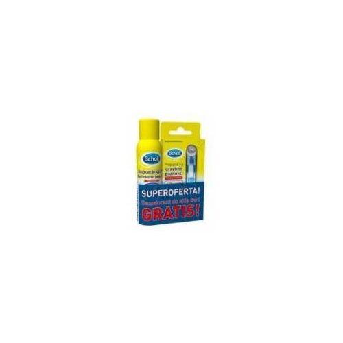 SCHOLL ZESTAW Preparat na grzybicę paznokci 3,8ml + Dezodorant do stóp 3w1 z kategorii dezodoranty do stóp