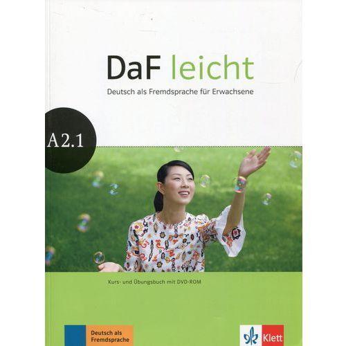 Daf Leicht A2.1 Kurs- und Ubungsbuch + DVD, praca zbiorowa