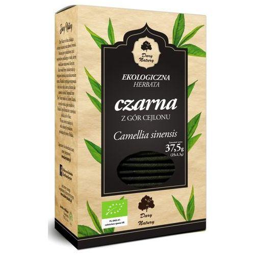 Dary natury - herbatki bio Herbata czarna bio (25 x 1,5 g) - dary natury (5902581617613)