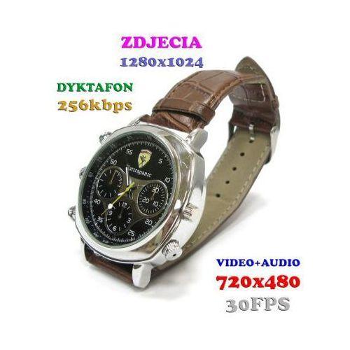 Szpiegowski zegarek na rękę (8gb), nagrywający dźwięk i obraz + rejestrator dźwięku + ap. foto... marki Spy elektronics ltd.