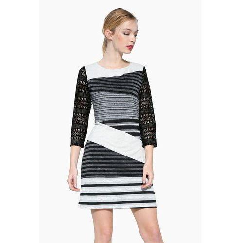 Desigual vest irlanda sukienka z dżerseju grey