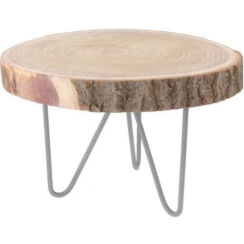 Home styling collection Niski stolik okazjonalny, stolik nocny - naturalny pień drzewa (8718158699220)