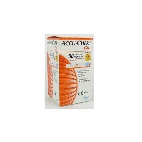 Produkt ACCU-CHEK GO Test paskowy - 50 sztuk, marki ROCHE DIAGNOSTICS GMBH Niemcy