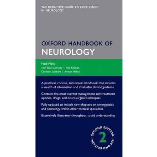 Oxford Handbook of Neurology - Wysyłka od 5,99 - kupuj w sprawdzonych księgarniach !!!, Amrish Mehta