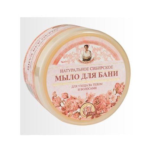 Babuszka agafia naturalne syberyjskie kwiatowe mydło do ciała i włosów 500ml marki Eurobio lab, estonia