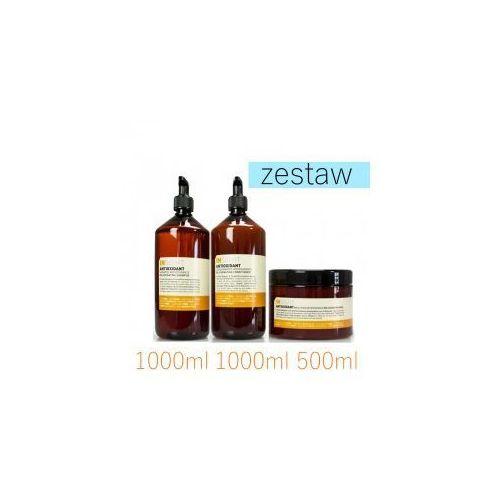 Insight Antioxidant Odmładzający Zestaw do Włosów Szampon 1000ml Odżywka 1000ml Maska 500ml