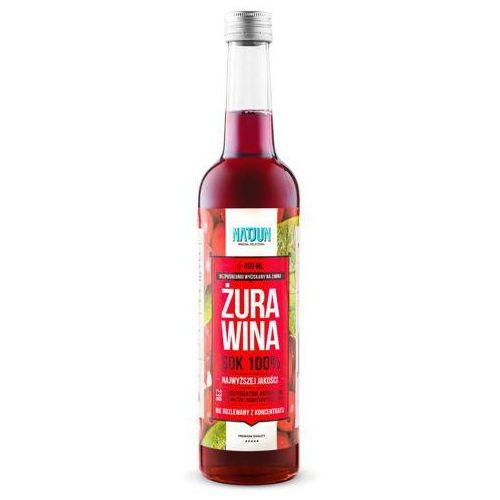 Natjun 100% sok z żurawiny 400ml