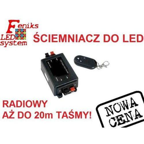 Kontroler natężenia jasności - ściemniacz led - na pilota marki Feniks