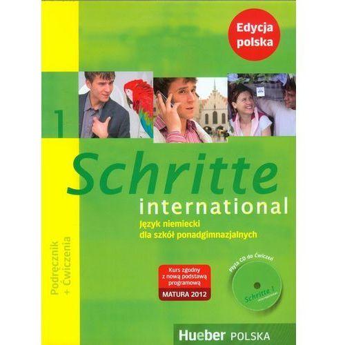 Schritte international 1 edycja polska. Pakiet (podręcznik + ćwiczenia + zeszyt ucznia XXL + CD do ćwiczeń) (2006)