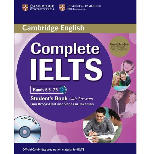 Complete IELTS Bands 6.5-7.5. Podręcznik z Kluczem + CD-ROM + CD, Cambridge University Press