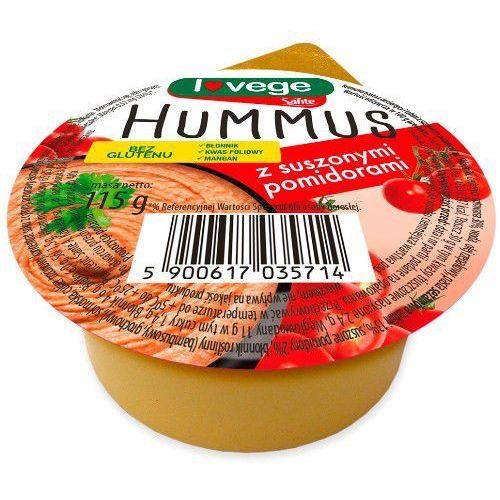 Hummus z suszonymi pomidorami bez glutenu Lovege 115g - Sante (5900617035714)