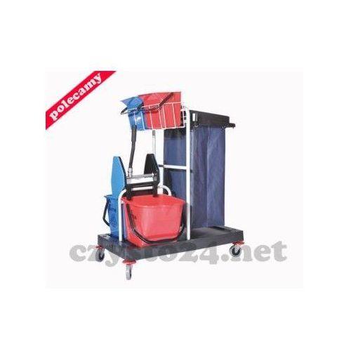 wózek serwisowy do sprzątania z uchwytem na worek z tworzywa 04, ZSP04