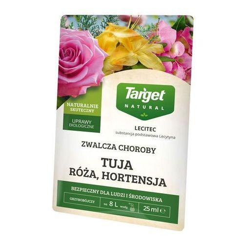 Target Preparat grzybobójczy lecitec róża hortensja azalia 25 ml