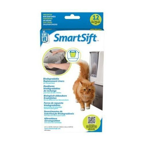 cat it design smartsift wklady do kuwety samoczyszczącej - pojemnik górny od producenta Hagen