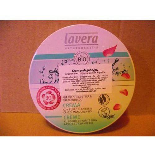 Lavera- Krem pielęgnacyjny z masłem shea i olejem ze słodkich migdałów