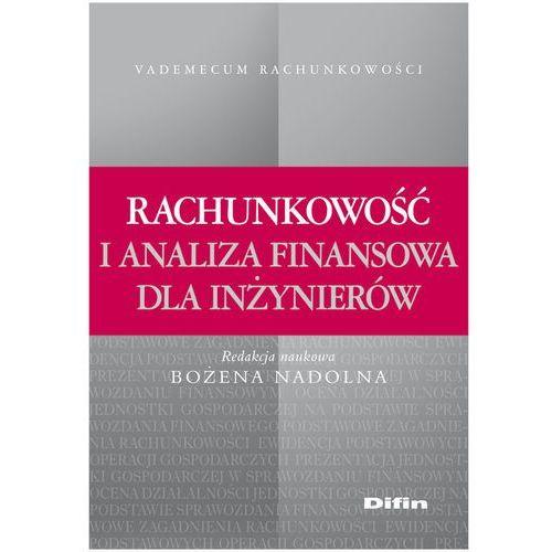 Rachunkowość i analiza finansowa dla inżynierów (2012)