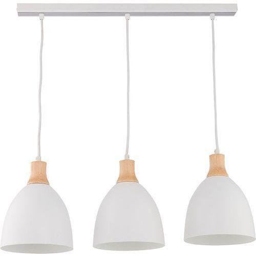 Sigma Lampa wisząca leo 3 biała metalowe klosze