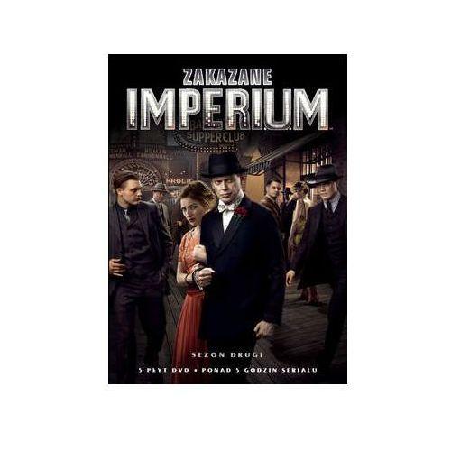 Zakazane imperium, sezon 2 (5 dvd) marki Galapagos films / hbo