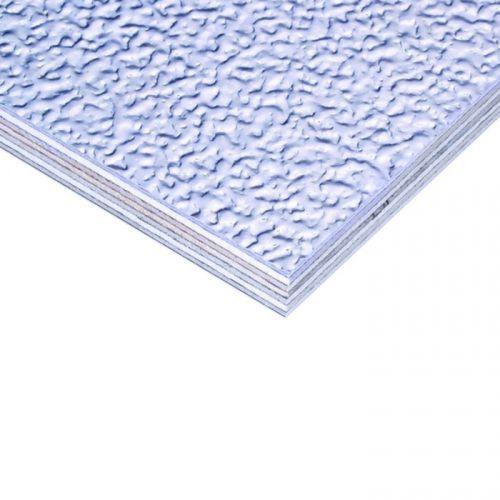 Adam hall hardware 0227 g - płyta aluminiowa stucco (skórka pomarańczy) na sklejce brzozowej z folią przeciwprężną, 6,9 mm
