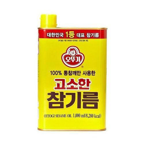 Olej sezamowy z prażonych ziaren Ottogi 1L
