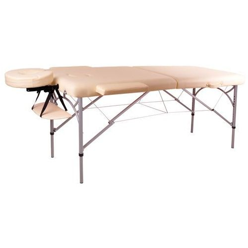 Insportline Profesjonalny stół do masażu tamati, kremowo-biały (8595153706494)