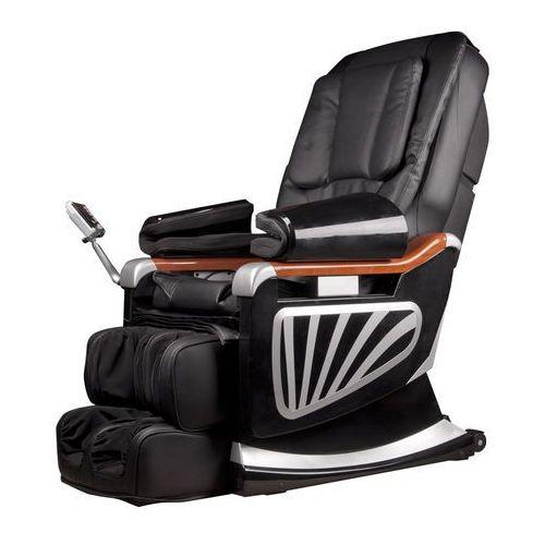 Insportline Fotel do masażu masseria, czarny (8595153644741)
