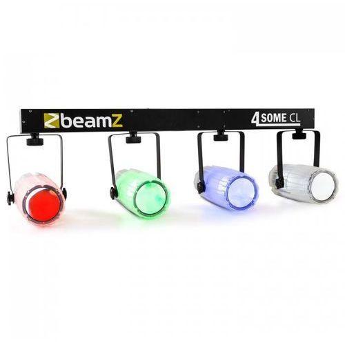 4-some clear zestaw świetlny rgbw-led dmx mikrofon marki Beamz