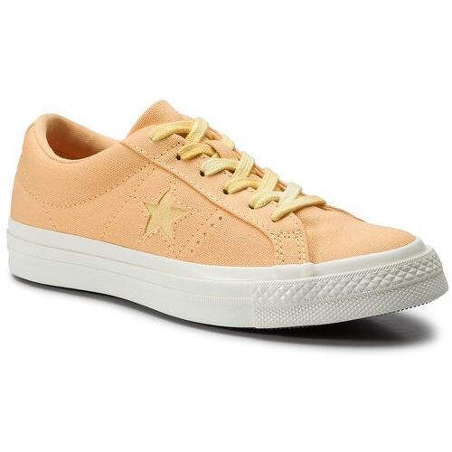Tenisówki - one star ox 564153c melon baller/butter yellow, Converse, 36-40
