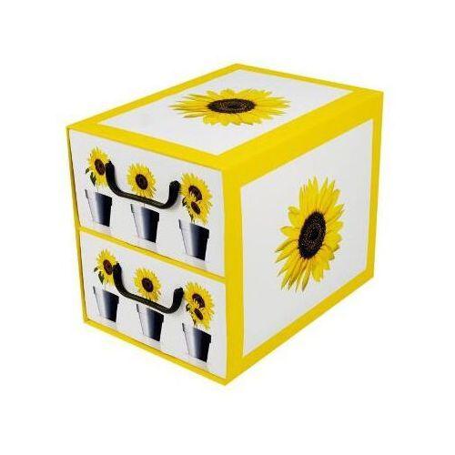 Pudełko kartonowe 2 szuflady pionowe DONICZKI-SŁONECZNIK - oferta [0546dfa42fa3d586]