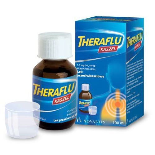 Lek Pozostałeleki i suplementy: Theraflu kaszel 1,5mg/ml syrop 100ml