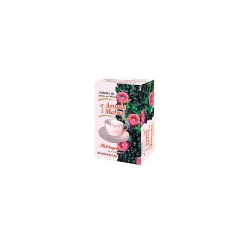Herbatka z aronią i malwą fix - 3,0g * 20 szt marki Herbapol