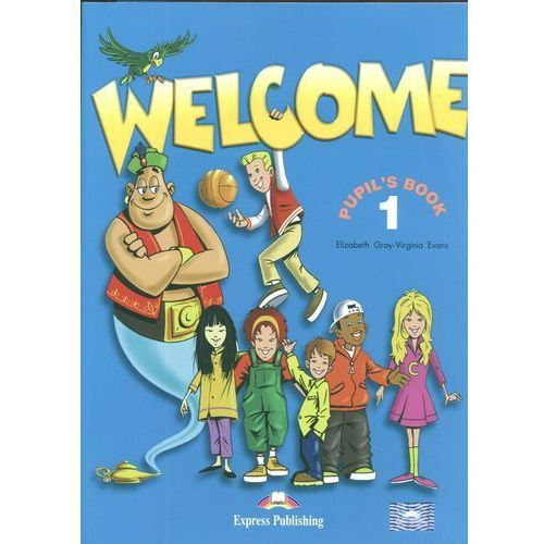 Welcome 1 Pupil`s Book + My Alphabet Book, oprawa broszurowa