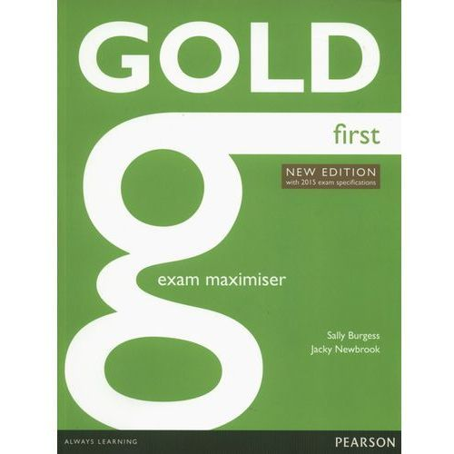 Gold First. Ćwiczenia bez Klucza + Audio Online, Pearson